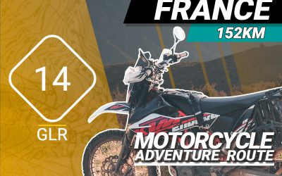 The GLR 14 Motorcycle Adventure Route