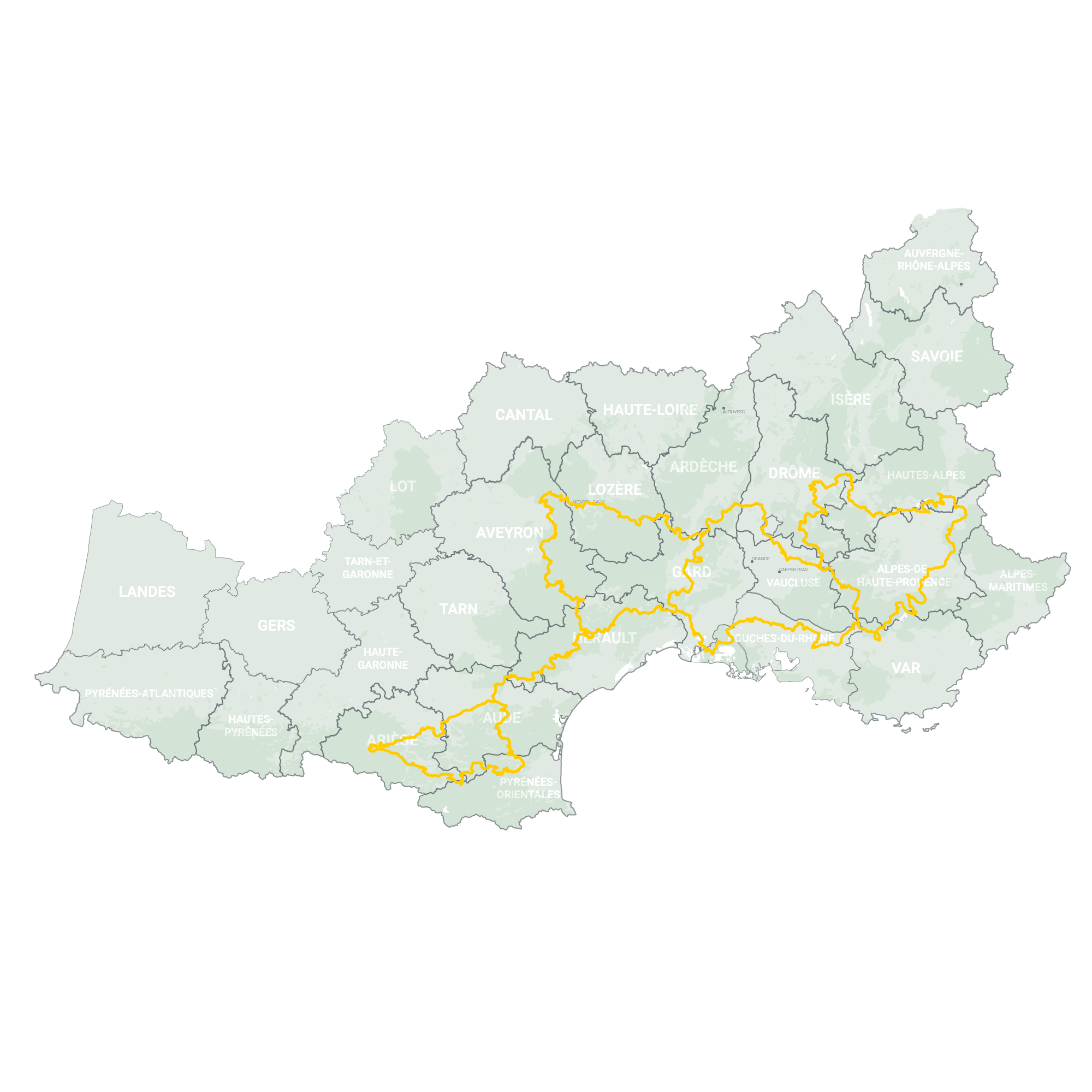 GLRs of France