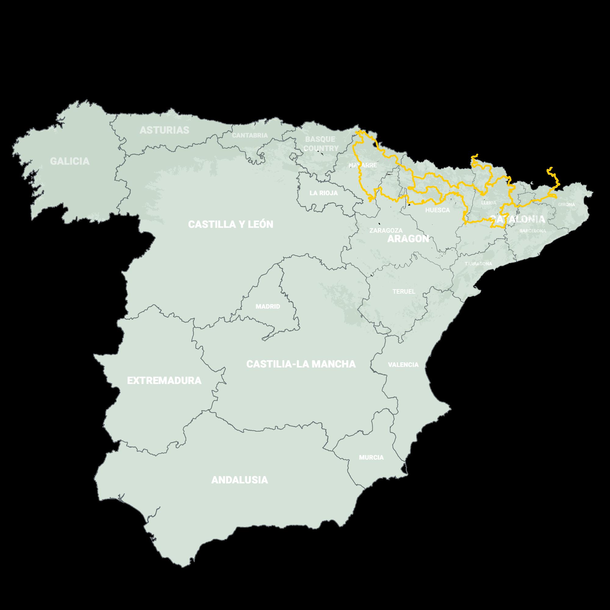 GLRs of Spain