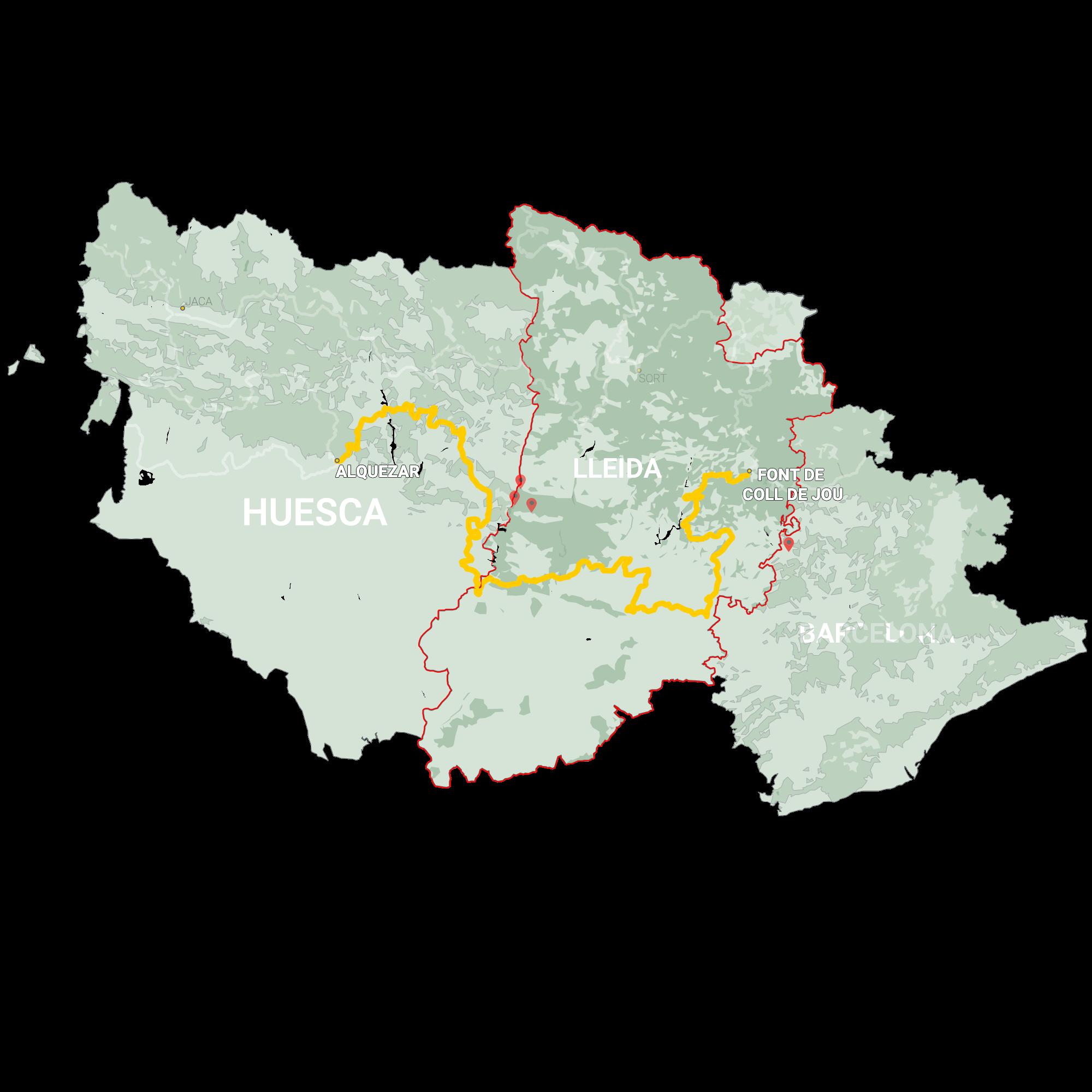 GLR 23 Region Lleida Map Overview