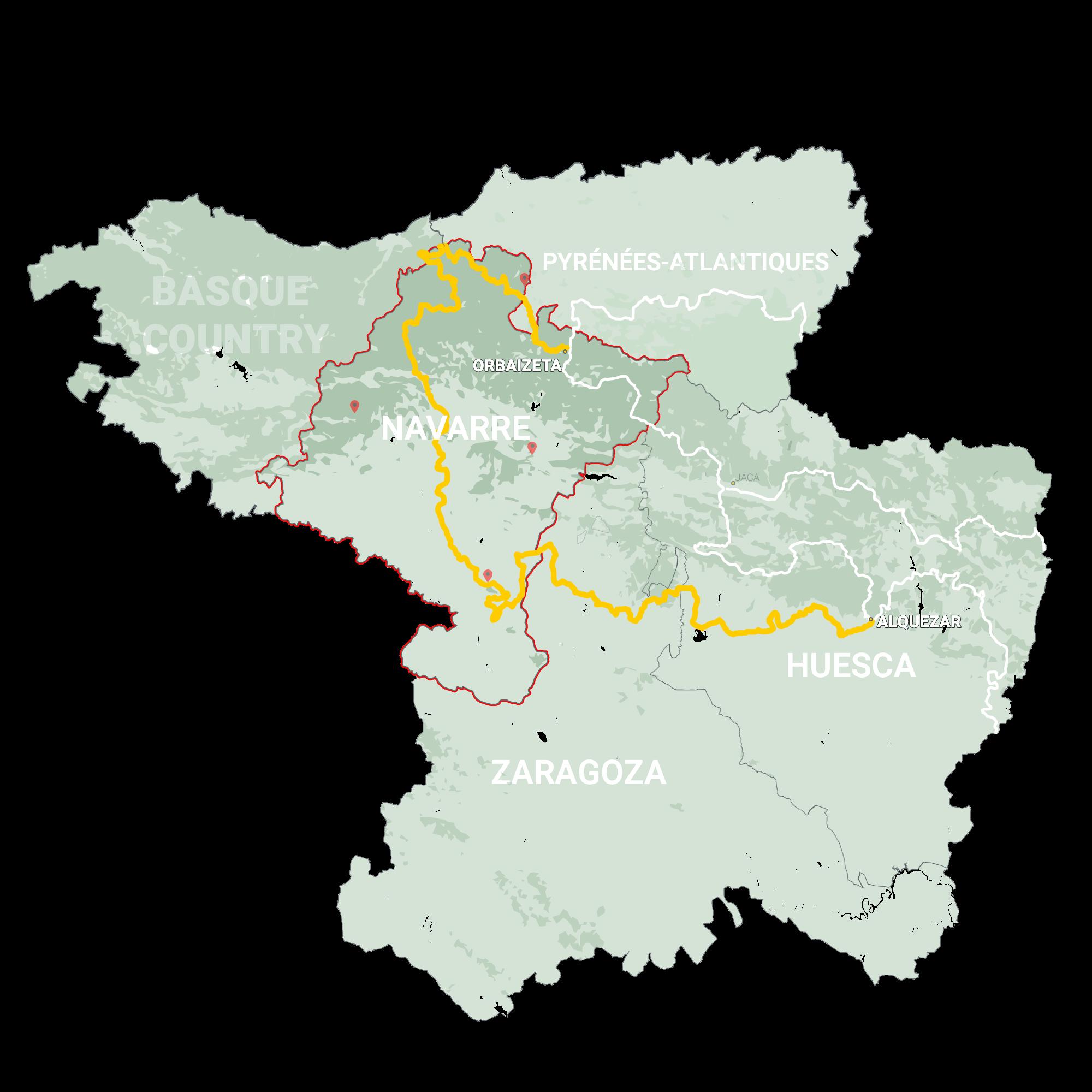 GLR 25 Region Navarre Map Overview