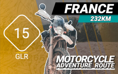 The GLR 15 Motorcycle Adventure Route