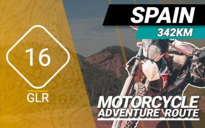 The GLR 16 Motorcycle Adventure Route