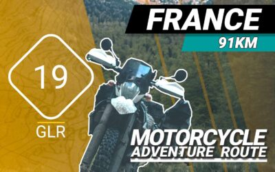The GLR 19 Motorcycle Adventure Route