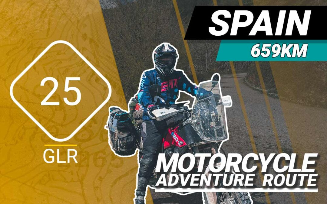 The GLR 25 Motorcycle Adventure Route