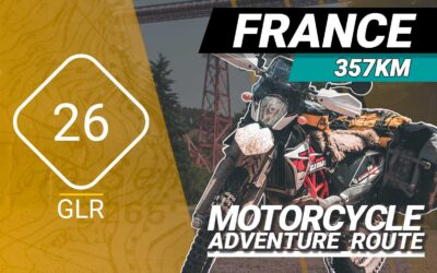 The GLR 26 Motorcycle Adventure Route