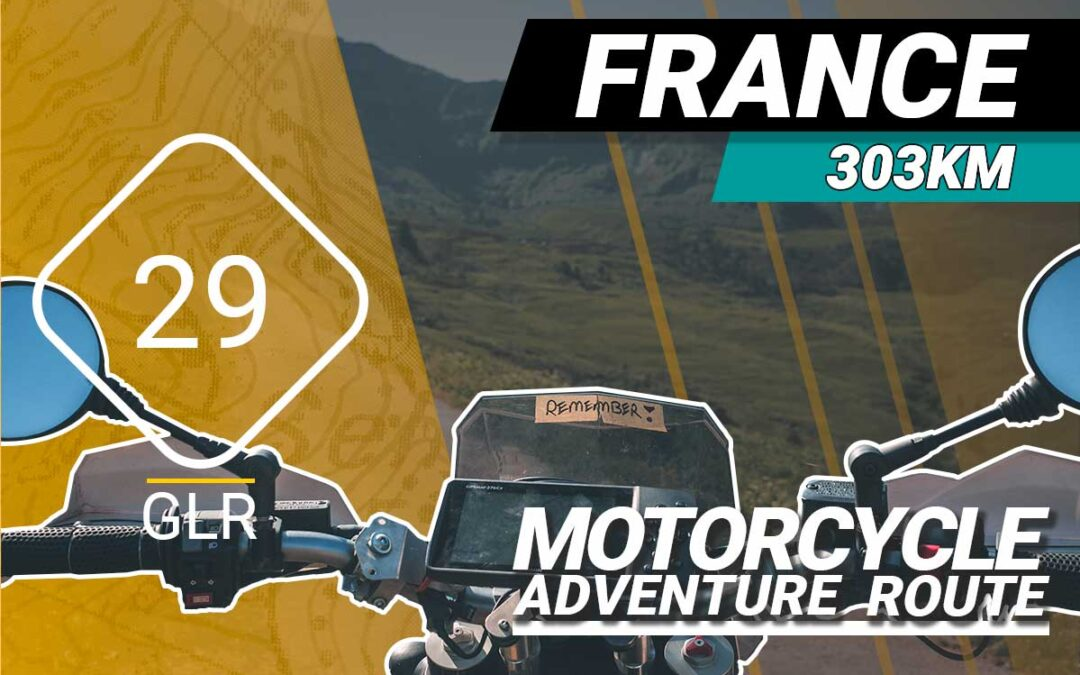 The GLR 29 Motorcycle Adventure Route