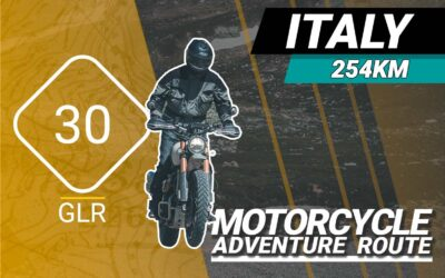 The GLR 30 Motorcycle Adventure Route