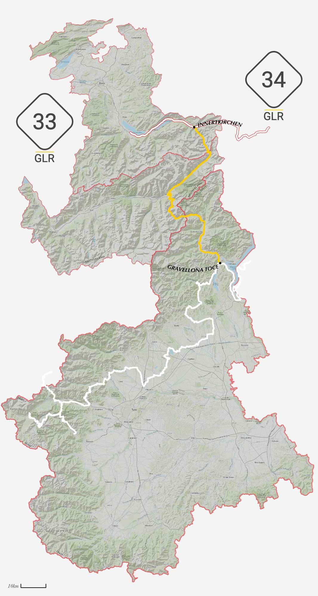 GLR 32 Connections Overview Innertkirchen