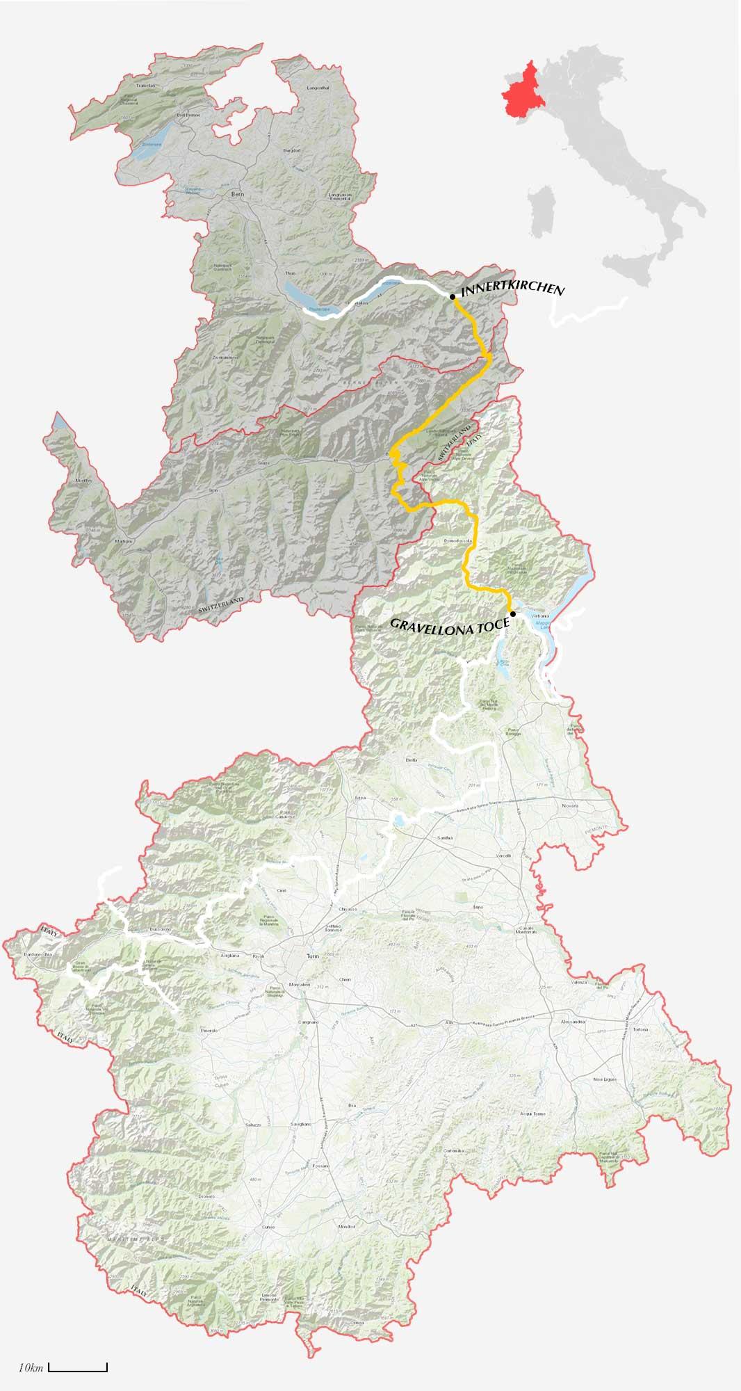 GLR 32 Region Piedmont Map Overview II
