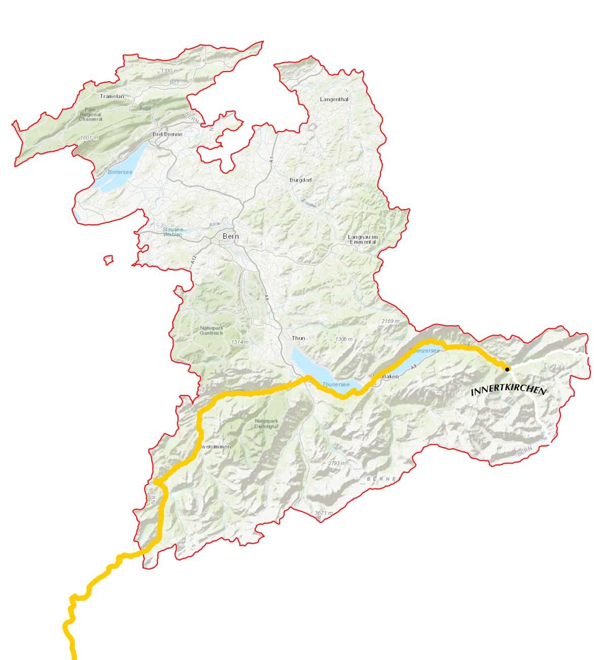 GLR 33 Route Info Map Part 2