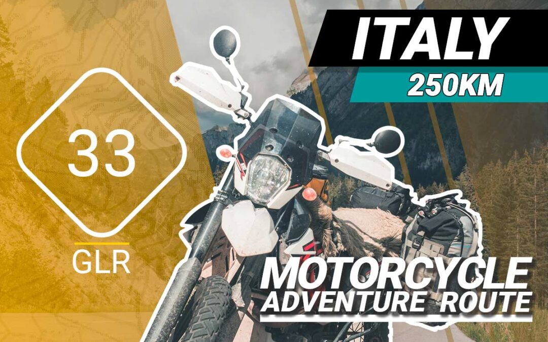 The GLR 33 Motorcycle Adventure Route