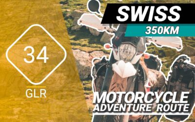 The GLR 34 Motorcycle Adventure Route