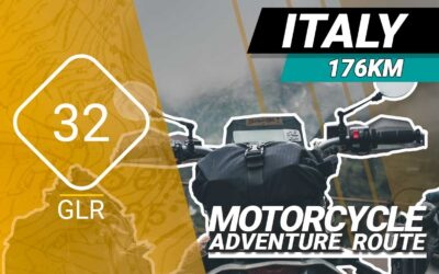The GLR 32 Motorcycle Adventure Route