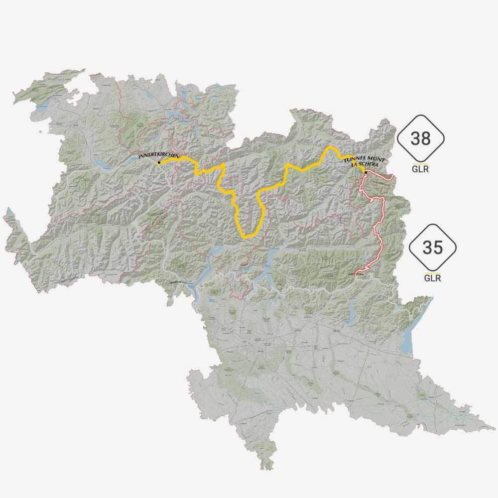 GLR 34 Connections Tunnel Munt la Schera