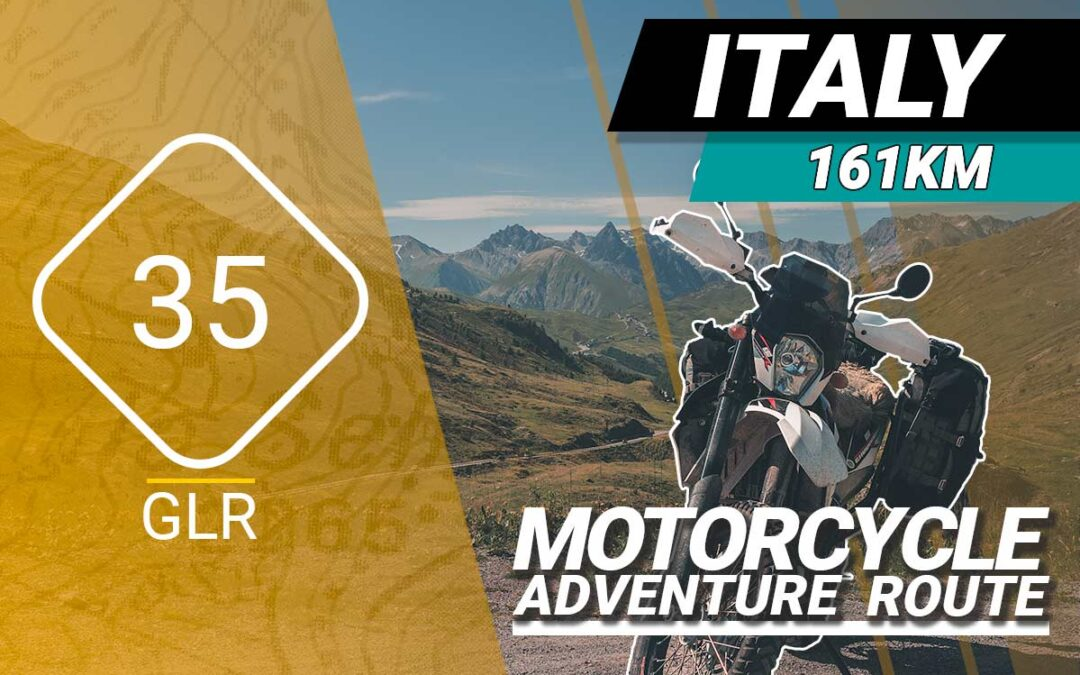 The GLR 35 Motorcycle Adventure Route