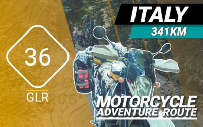 The GLR 36 Motorcycle Adventure Route