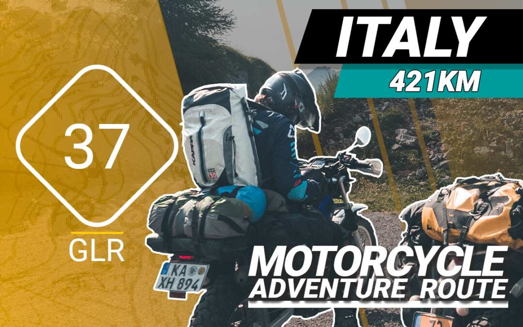 The GLR 37 Motorcycle Adventure Route
