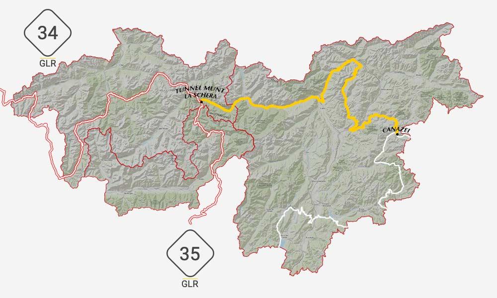 GLR 38 Connections Tunnel Munt La Schera