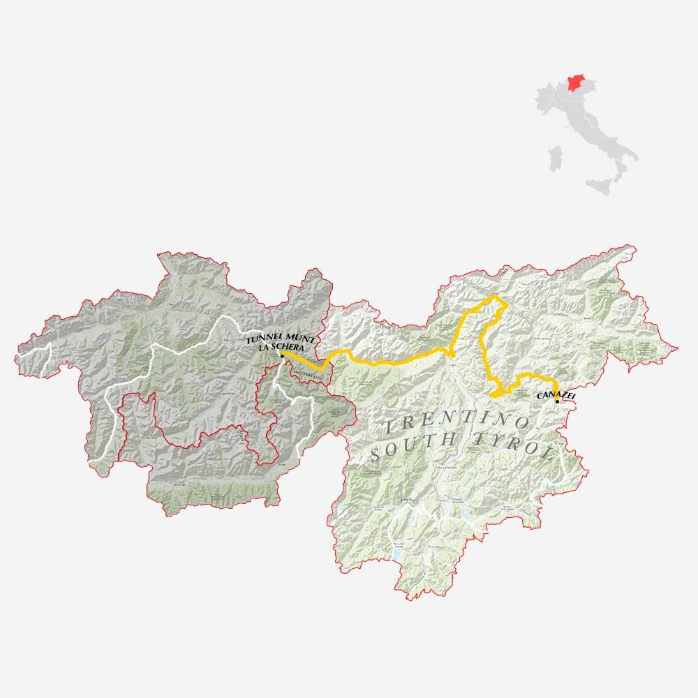 GLR 38 Region Trento South-Tyrol