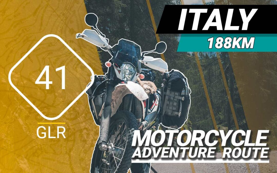 The GLR 41 Motorcycle Adventure Route