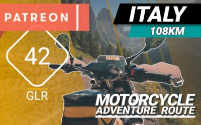 The GLR 42 Motorcycle Adventure Route