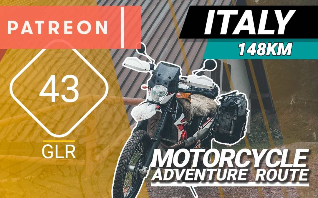 The GLR 43 Motorcycle Adventure Route