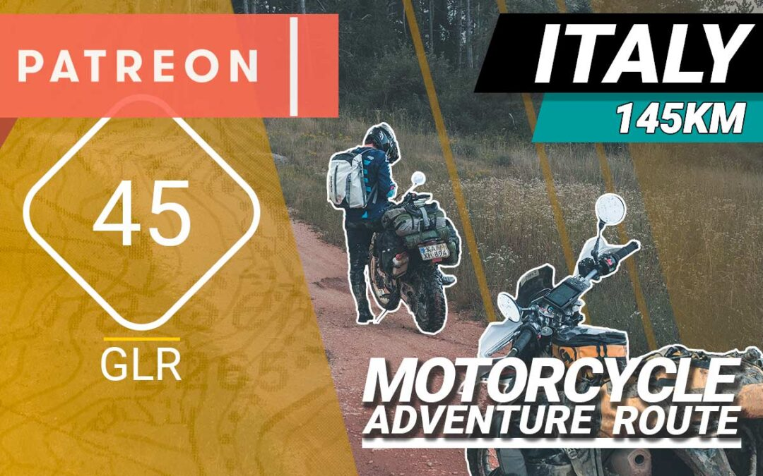 The GLR 45 Motorcycle Adventure Route