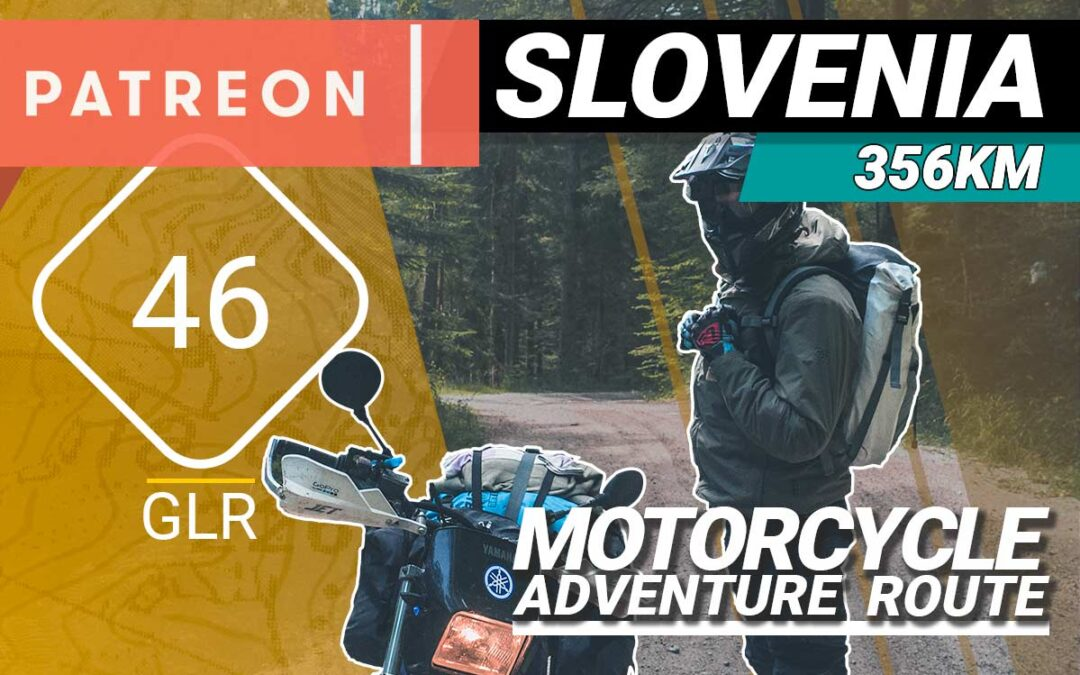 The GLR 46 Motorcycle Adventure Route