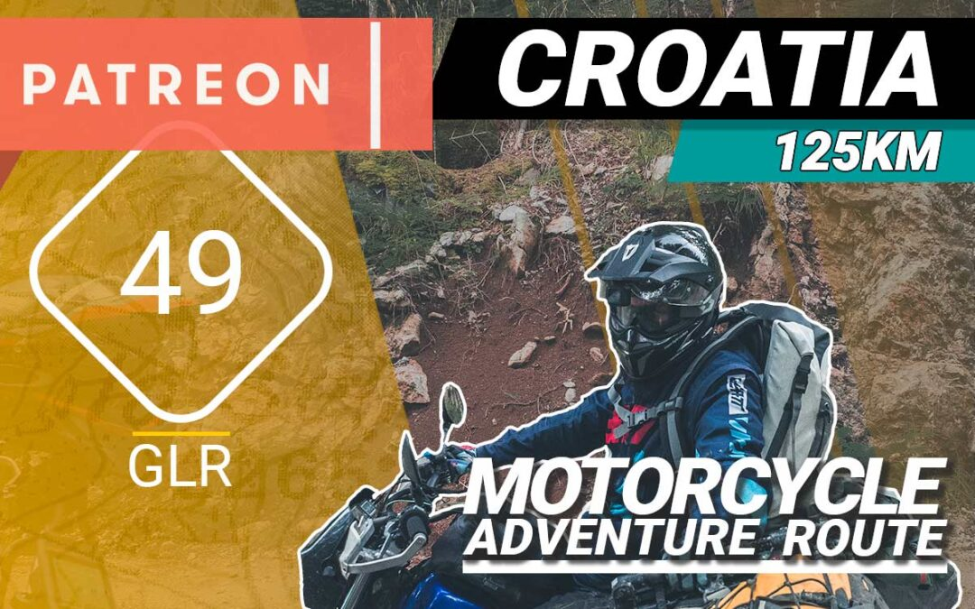 The GLR 49 Motorcycle Adventure Route