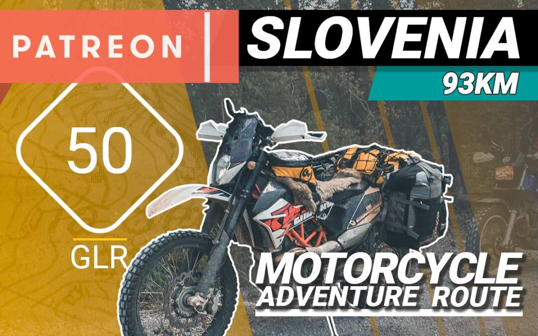 The GLR 50 Motorcycle Adventure Route